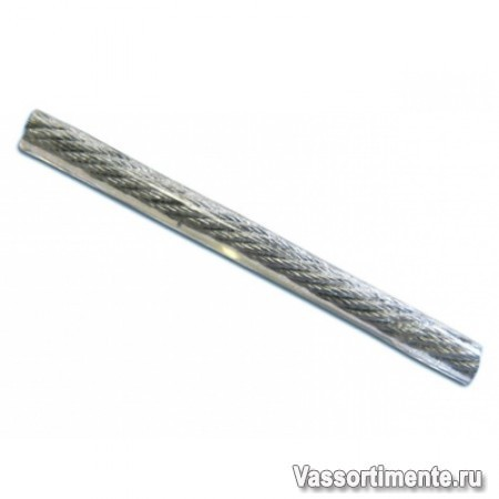 Трос 6/8 мм в ПВХ оплетке DIN 3055