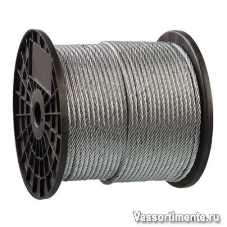 Трос оцинкованный 1,5 мм DIN 3055