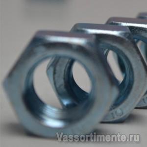 Гайка М80 ст 20 ГОСТ 10605-94 оцинкованная
