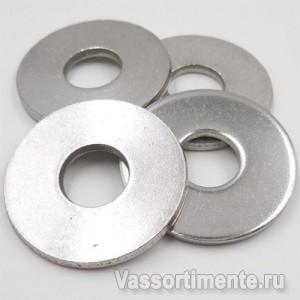 Шайба нержавеющая 10,5 мм А4 DIN 9021