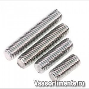 Шпилька нержавеющая М3 сталь А2 L= 1 м DIN 975