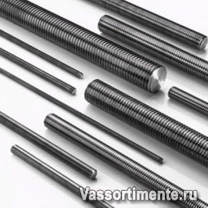 Шпилька нержавеющая М5 сталь А2 L= 1 м DIN 975