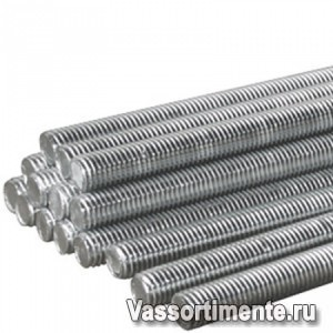 Шпилька нержавеющая М16 сталь А2 L= 1 м DIN 975