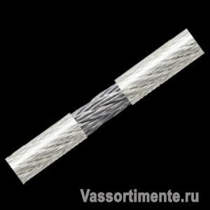 Трос 10/12 мм в ПВХ оплетке DIN 3055