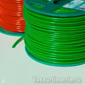 Трос в ПВХ 3/1,8 мм металлополимерный ПР-3.0 зеленый