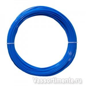 Трос в ПВХ 3/1,98 мм металлополимерный ПР-3.5 синий