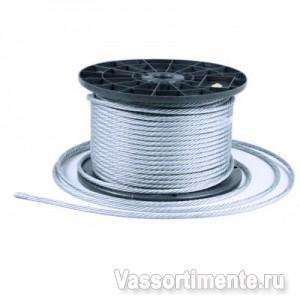 Трос оцинкованный 3 мм DIN 3055