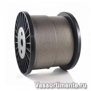 Трос оцинкованный 14 мм DIN 3055