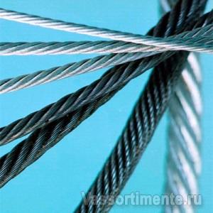 Канат стальной 3,6 мм ГОСТ 2688-80 6х19(1+6+6/6) ос