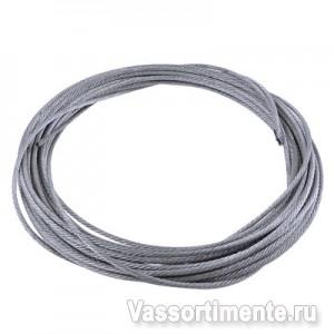 Канат стальной 4,1 мм ГОСТ 2688-80 6х19(1+6+6/6) ос