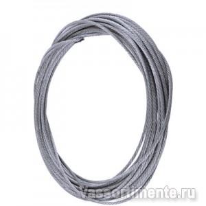 Канат стальной 4,5 мм ГОСТ 2688-80 6х19(1+6+6/6) ос