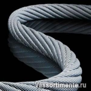 Канат стальной 24 мм ГОСТ 2688-80 6х19(1+6+6/6) ос