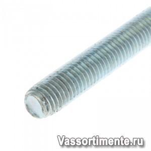 Шпилька нержавеющая М14 сталь А4 L=1м DIN 975