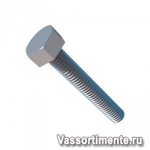 Болт нержавеющий М4х14 мм А4 DIN 933