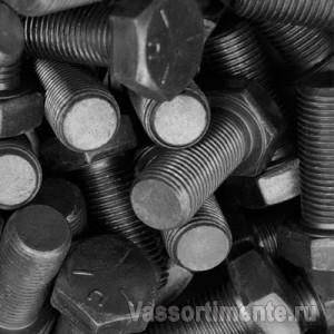 Болт нержавеющий М6х8 мм А4 DIN 933