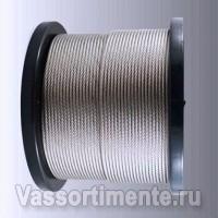 Трос нержавеющий 10 мм A2 7х7 DIN 3055