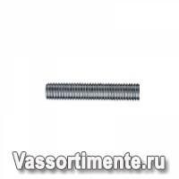 Шпилька нержавеющая М4 сталь А4 L=1м DIN 976